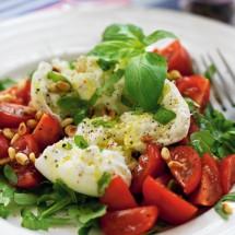 Tomat- och mozzarellasallad