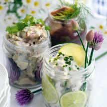 Lime och senapsill